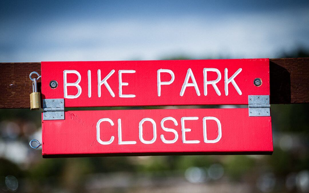 Bike Park closed indefinitely due to Coronavirus